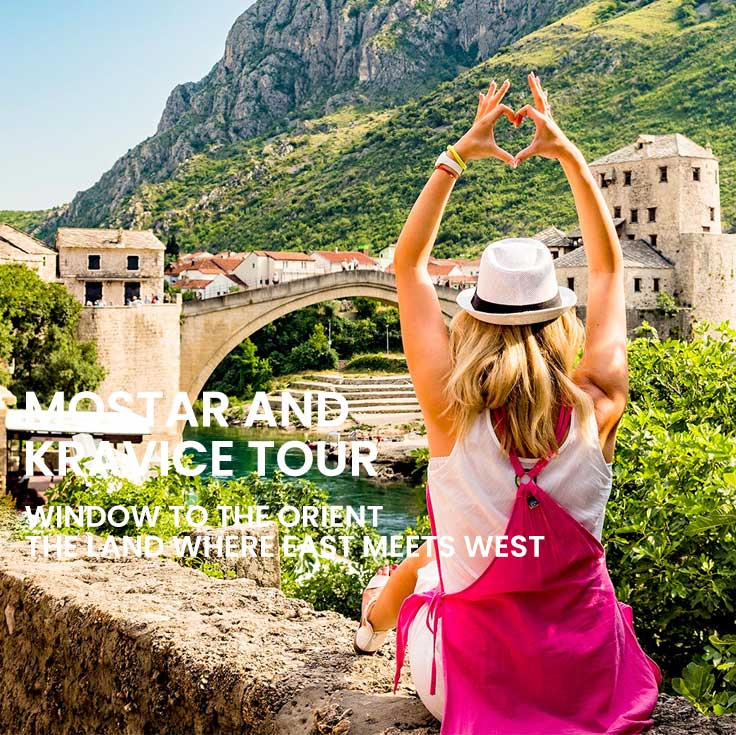 Mostar and Kravice tour from Split