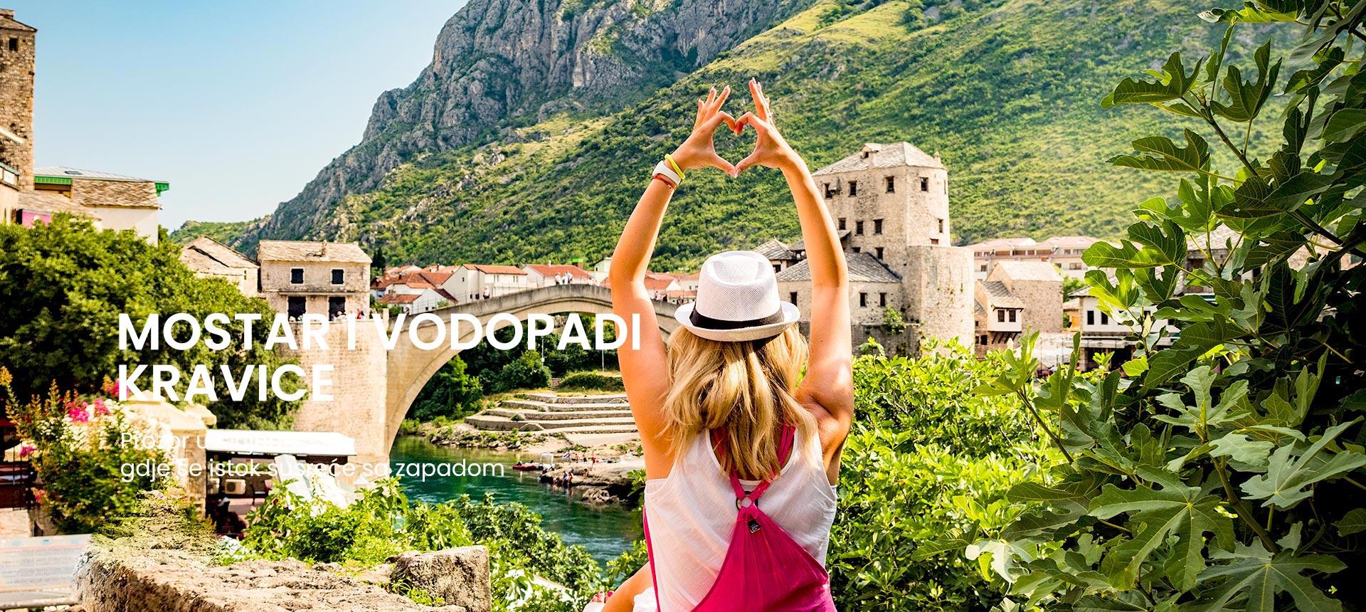 Mostar i Kravice vodopadi, cjelodnevni izlet iz Splita