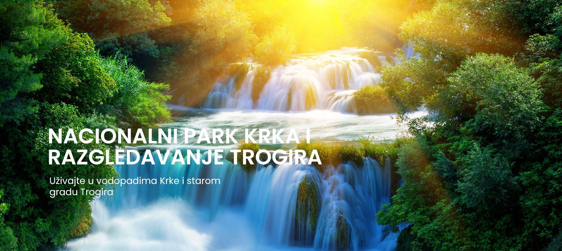 cjelodnevni izlet Krka nacionalni park i Trogir