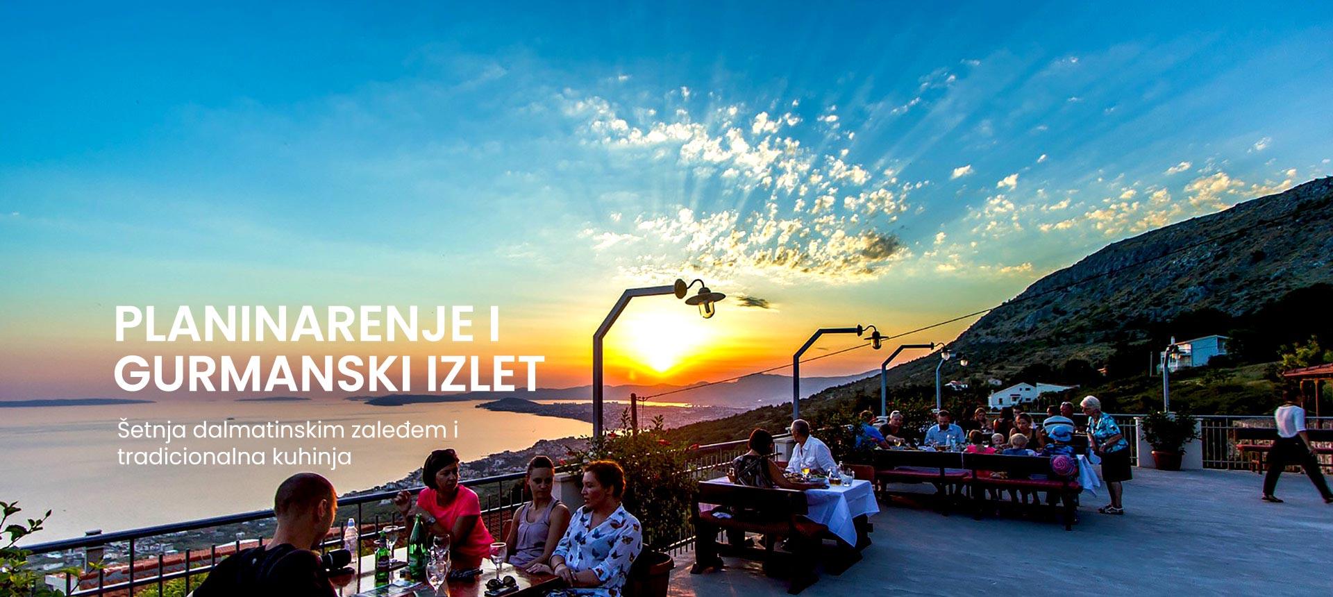 planinarenje i gurmanski izlet iz Splita