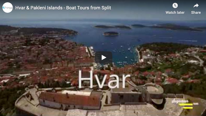 video sa izleta u plavu lagunu, Hvar i Trogir