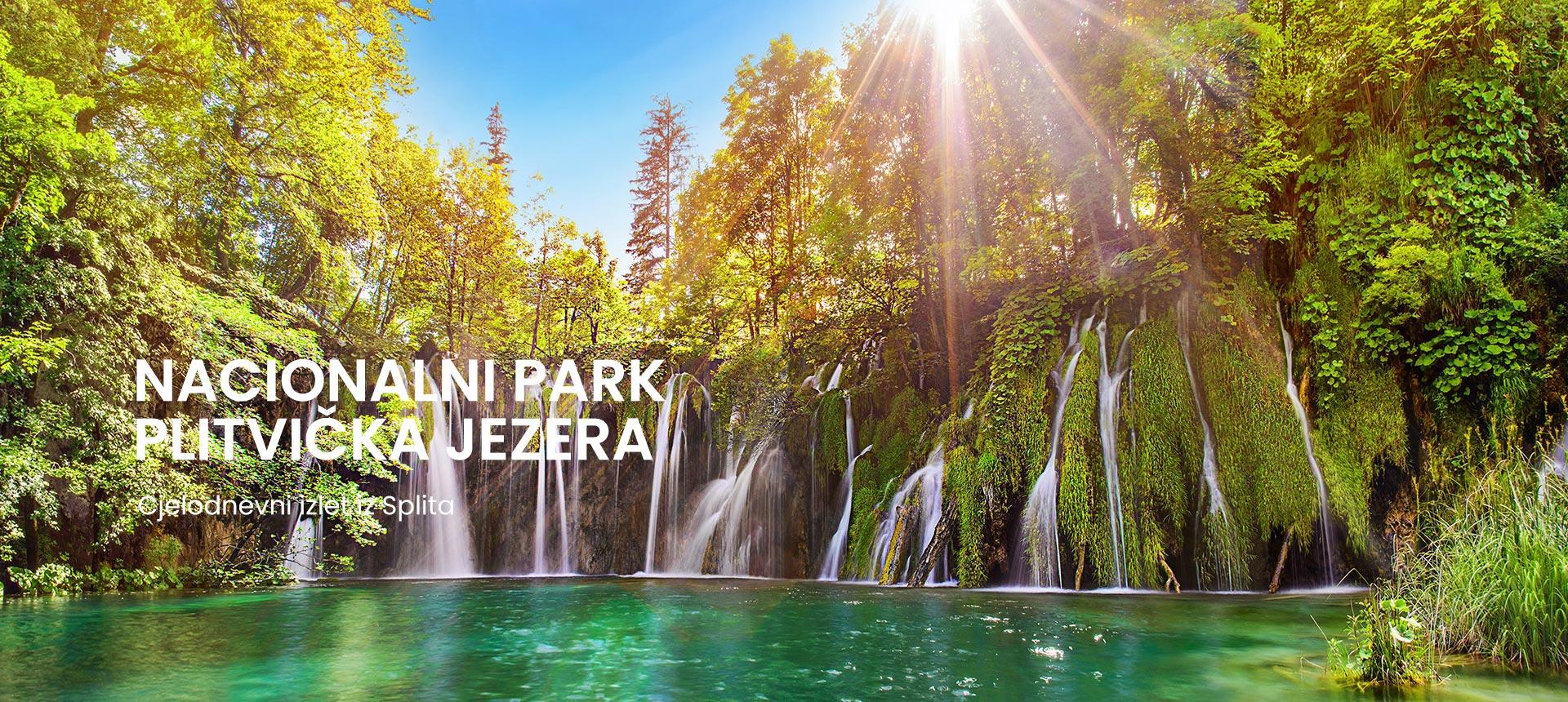 cjelodnevni izlet iz Splita u Plitvička jezera