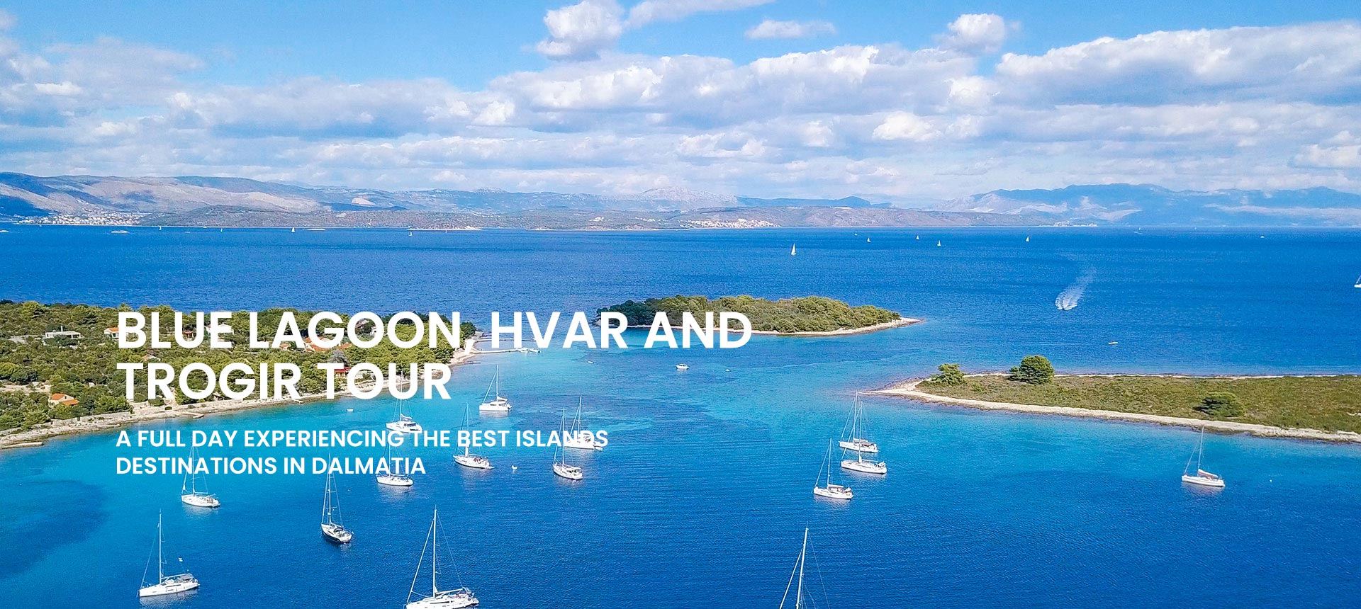 Private island hopping tour