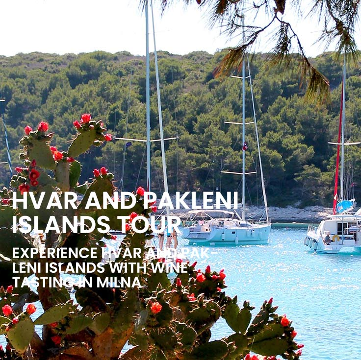 Private tour to Hvar and Pakleni islands from Split