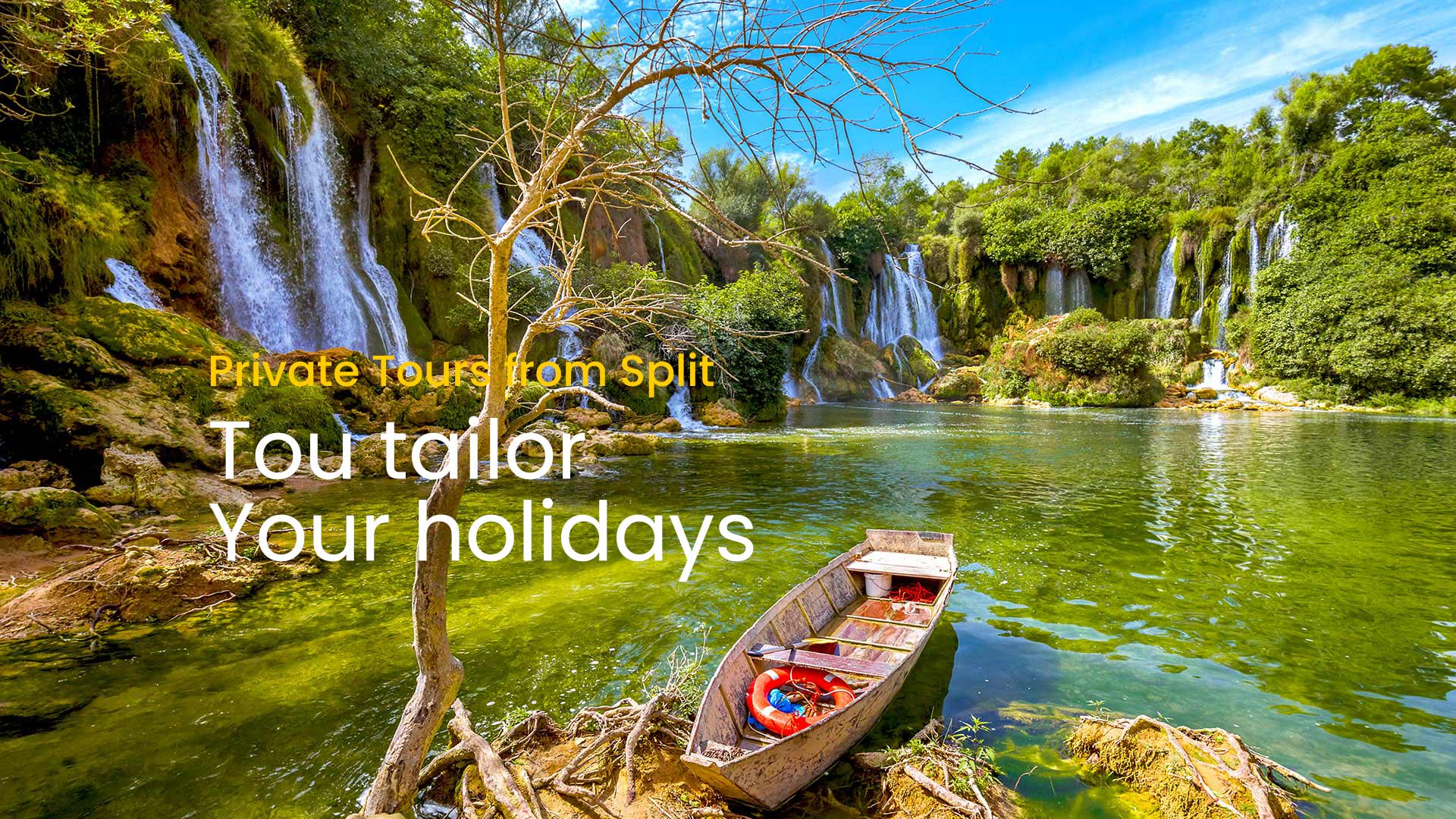 private tours from Split by Sugaman Tours