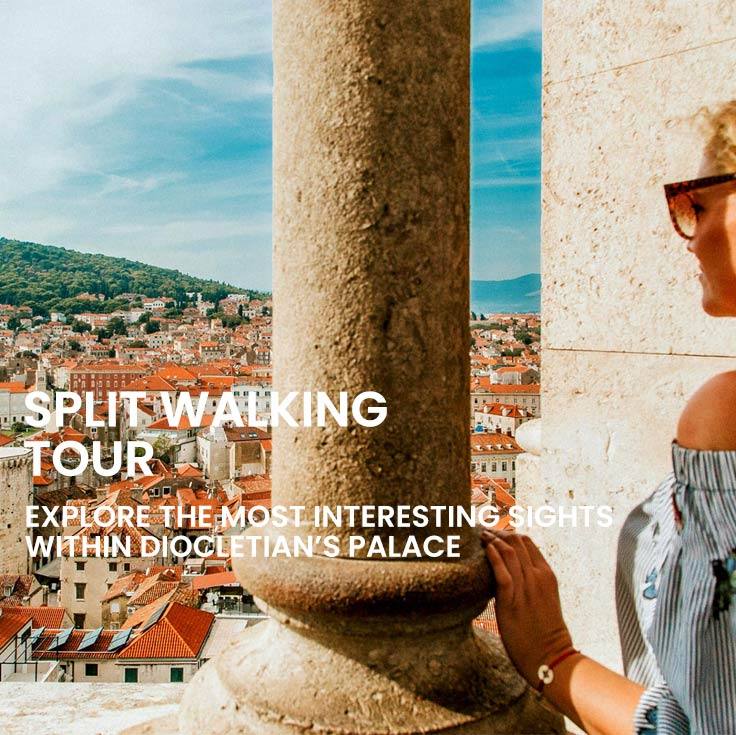 Split walking tour