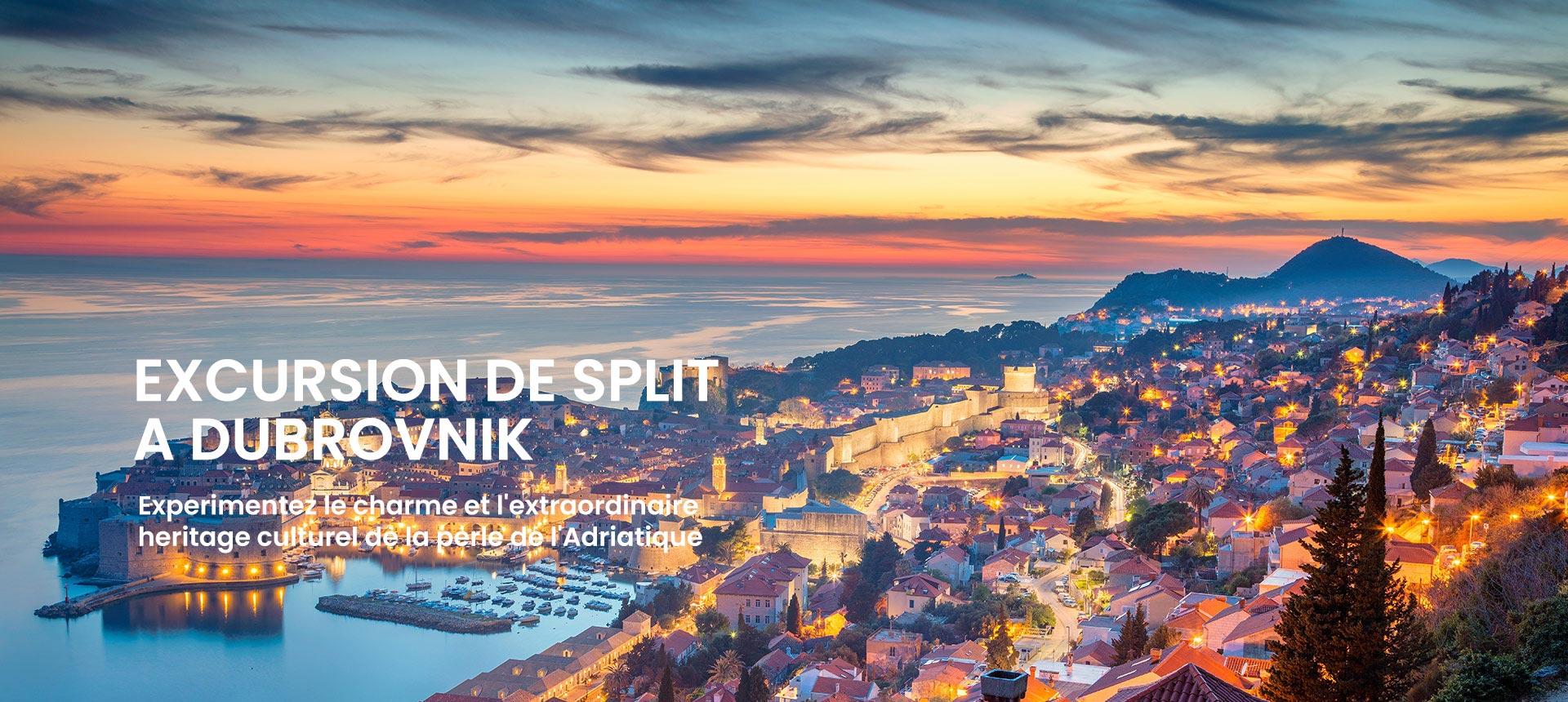 Excursion De Split A Dubrovnik En Un Jour