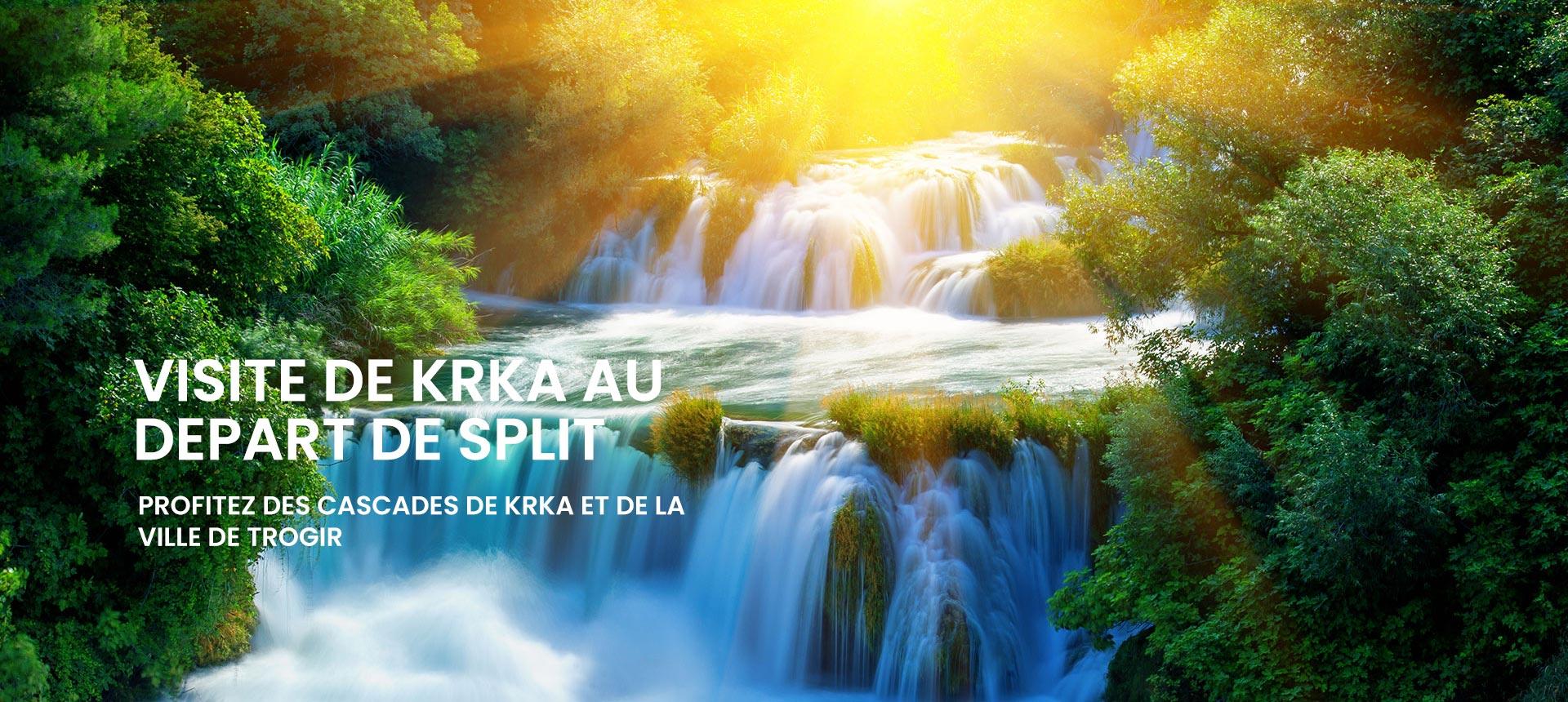 Visite De Krka Au Depart De Split