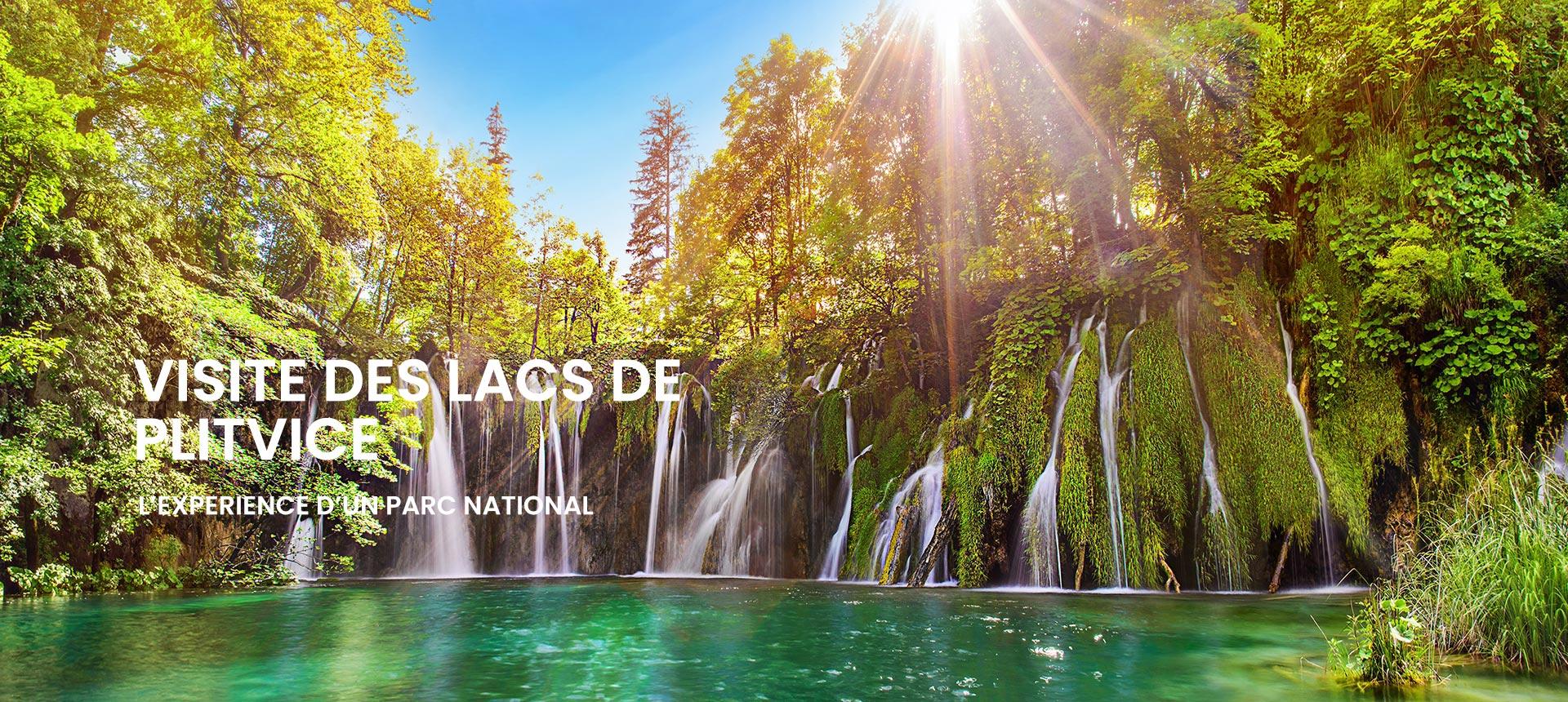Visite Des Lacs De Plitvice Au Depart De Split