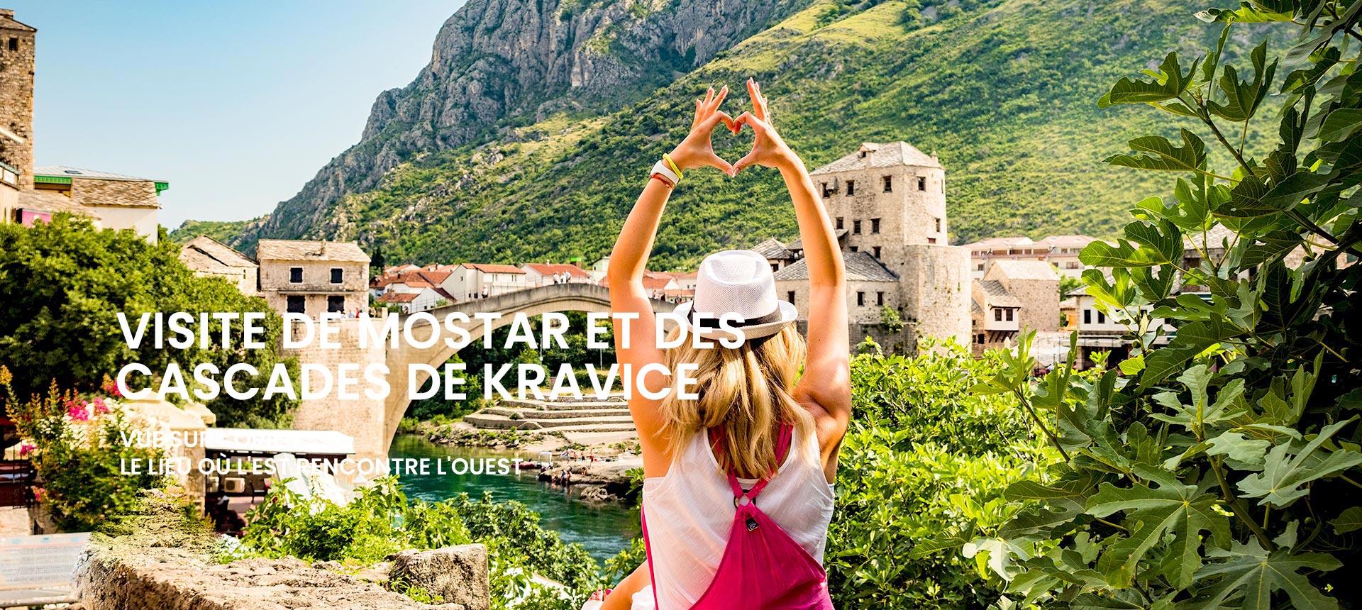Visite de Mostar et des cascades de Kravice